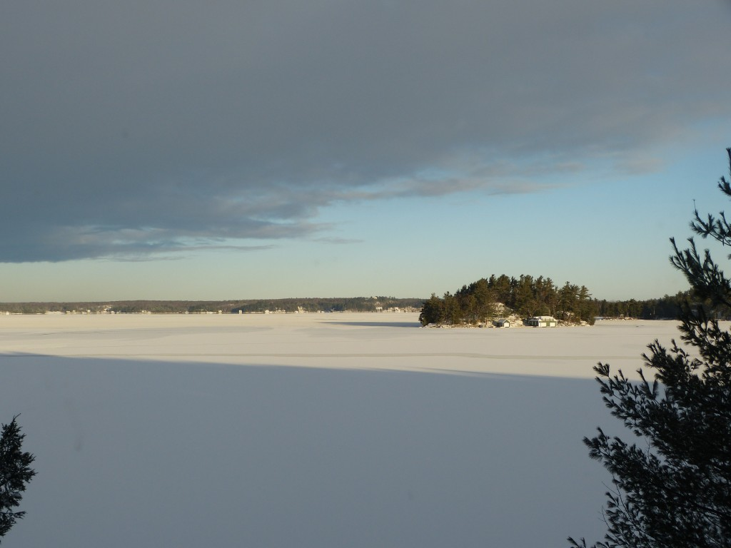 Frosted Lake Rosseau